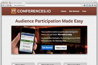 Conferences.IO Refreshes its Landing Site