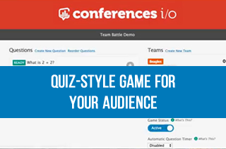 Introducing Team Battle, a quiz-style game for your audience