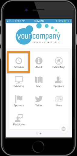 EventApp-Agenda