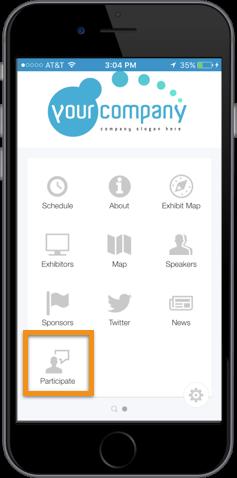 EventApp-Button