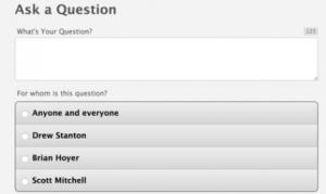 Social Q&A