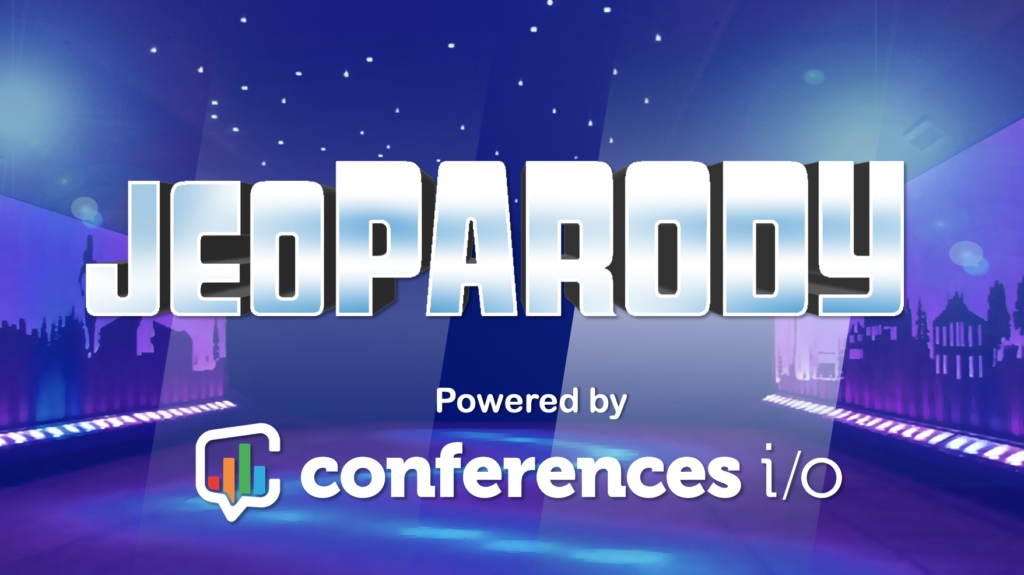 Conferences i/o Jeopardy Event Game